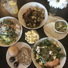 Gluten-free lunch from Flower Child in Arizona