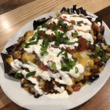 Gluten-free nachos from Bobby V's