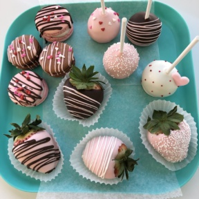 Valentine's Day desserts from Joy and Sweets