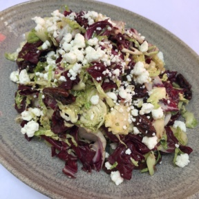 Brussels sprouts salad from 208 Rodeo