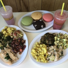 Gluten-free lunch from Lemonade