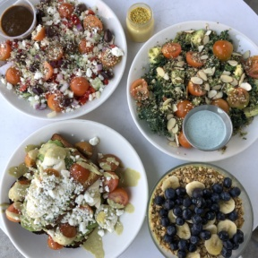 Gluten-free lunch from The Hive