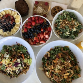 Gluten-free lunch from Beaming