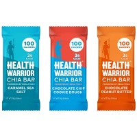 Gluten-free chia bars by Health Warrior Chia Bar