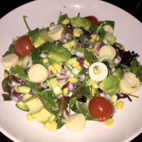 Gluten-free salad from 121 Fulton St