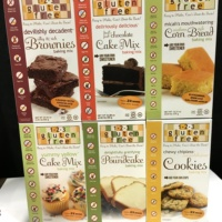 Gluten free baking mixes from 123 Gluten Free