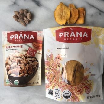 Maple almonds and dried mango by Prana