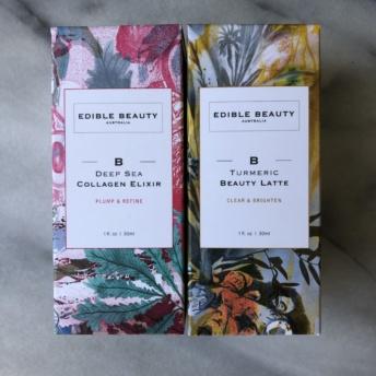 Collagen elixir and beauty latte from Edible Beauty