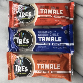 Gluten-free tamales by Tres Latin Foods
