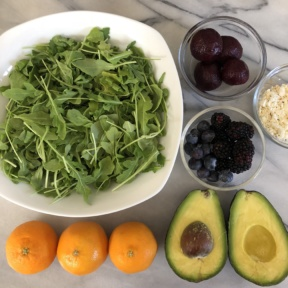 Making a gluten-free Summer Citrus Salad