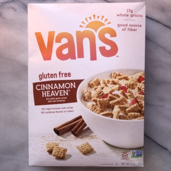 Gluten-free cereal by Van's