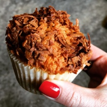Gluten-free muffin from 61B Cafe