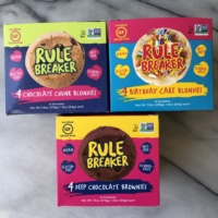 Certified gluten-free desserts from Rule Breaker Snacks