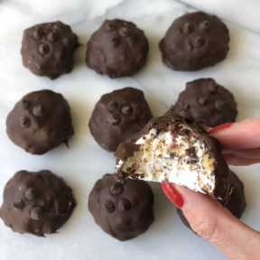 Ready to eat gluten-free S'mores Truffles