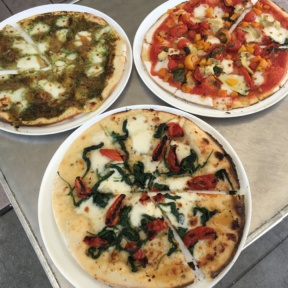 3 types of Gluten-free pizzas from 800 Degrees Pizza