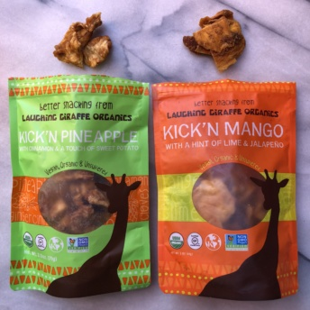 Gluten-free snacks by Laughing Giraffe Organics