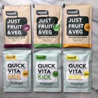 Gluten-free dairy-free products by Nuzest