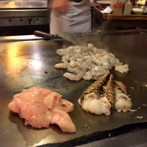 Gluten-free seafood from Abis Japanese Restaurant