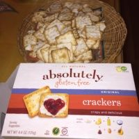 Gluten-free crackers from Absolutely Gluten Free