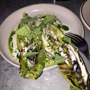 Gluten-free Caesar salad from Acme