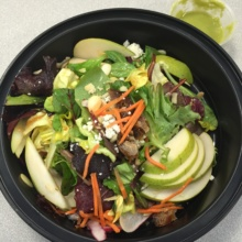Gluten-free salad from Agave