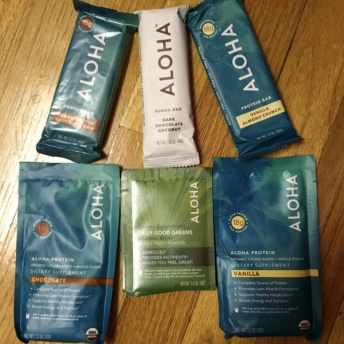 Gluten-free supplements from Aloha Protein