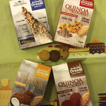 Gluten-free quinoa products by Andean Dream