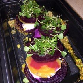 Gluten-free beet salad from Annabel