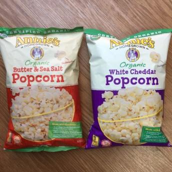 Gluten-free popcorn from Annie's