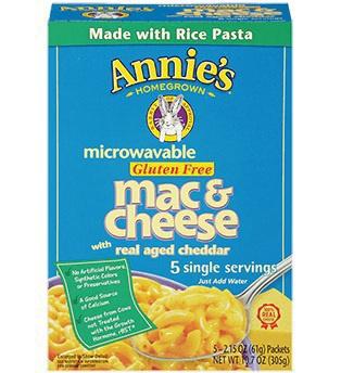 Gluten-free mac & cheese by Annie's
