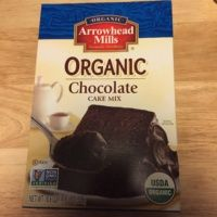 Gluten-free chocolate cake mix by Arrowhead Mills