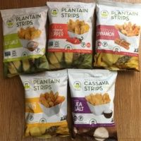 Gluten-free plantain strips from Artisan Tropic