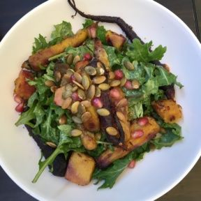 Gluten-free salad with root veggies from Ashland Hill