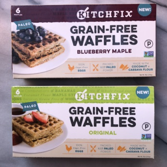 Gluten-free waffles from KitchFix
