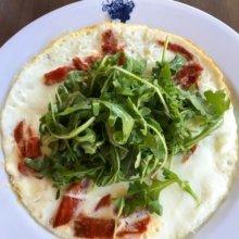 Gluten-free omelette from Bagatelle