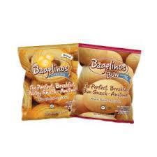 Gluten-free breakfast bun from Bagelinos