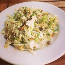 Gluten-free cauliflower salad from Barbuto