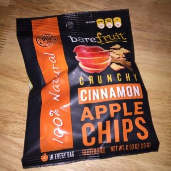Gluten-free apple chips from Bare Snacks