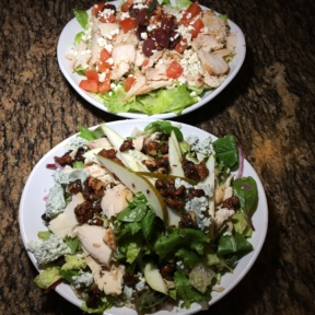 Gluten-free salads from Base Camp Pizza Co