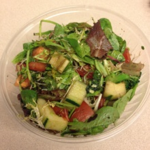Gluten-free salad from Beach Street Eatery