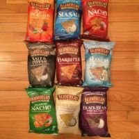 Gluten-free vegan chips from Beanfield Snacks
