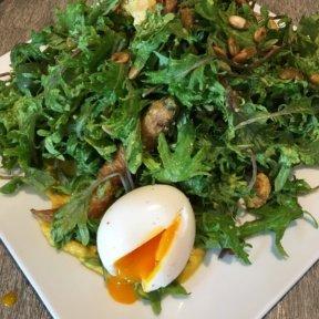 Gluten-free egg dish with veggies from Beefsteak