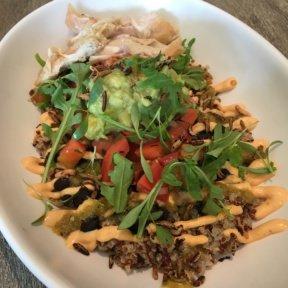 Gluten-free bowl from Beefsteak