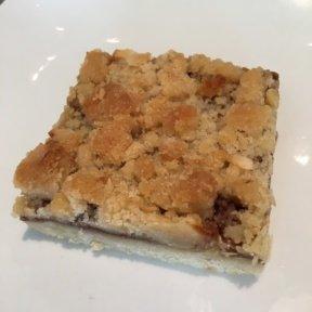 Gluten-free crumb bar from Beefsteak