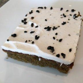 Gluten-free dessert bar from Beefsteak