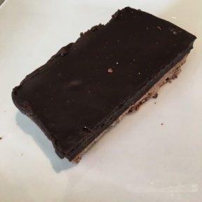 Gluten-free chocolate tart from Beefsteak