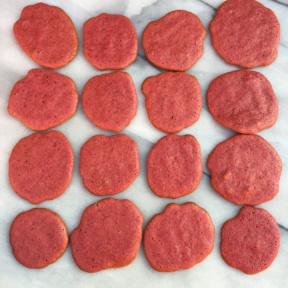 Gluten-free beet sugar cookies