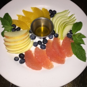 Gluten-free fruit platter from Bell Book & Candle