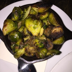 Gluten-free brussels sprouts from Bell Book & Candle