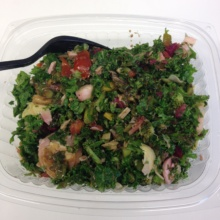 Gluten-free salad from Benvenuto Cafe